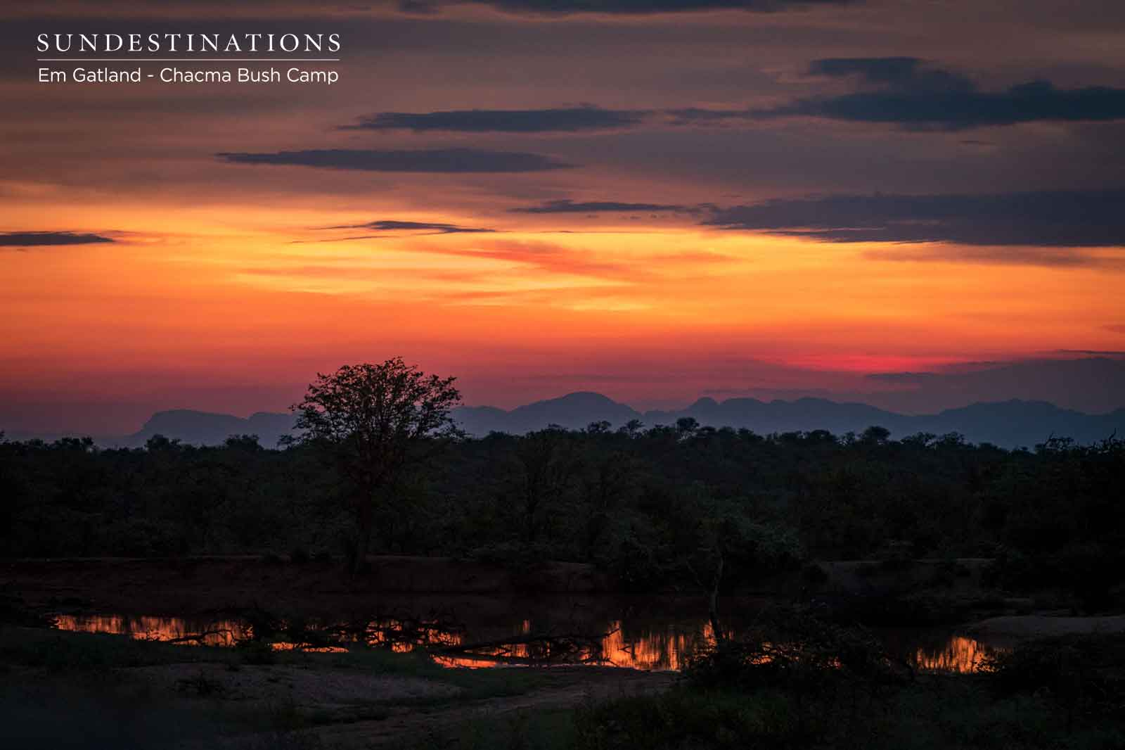 Sunsets in Maseke Game Reserve