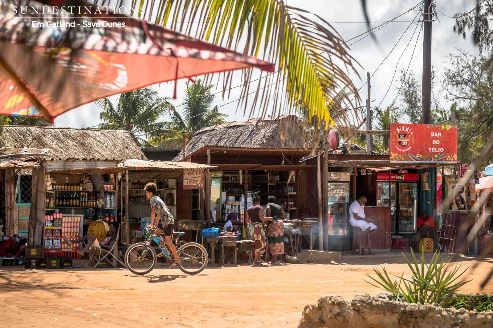 Tofo Shopping Mozambique