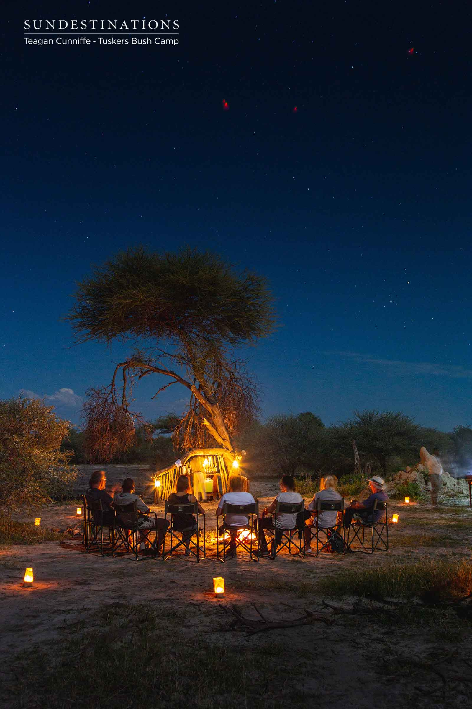 Bush Dinners at Tuskers Bush Camp