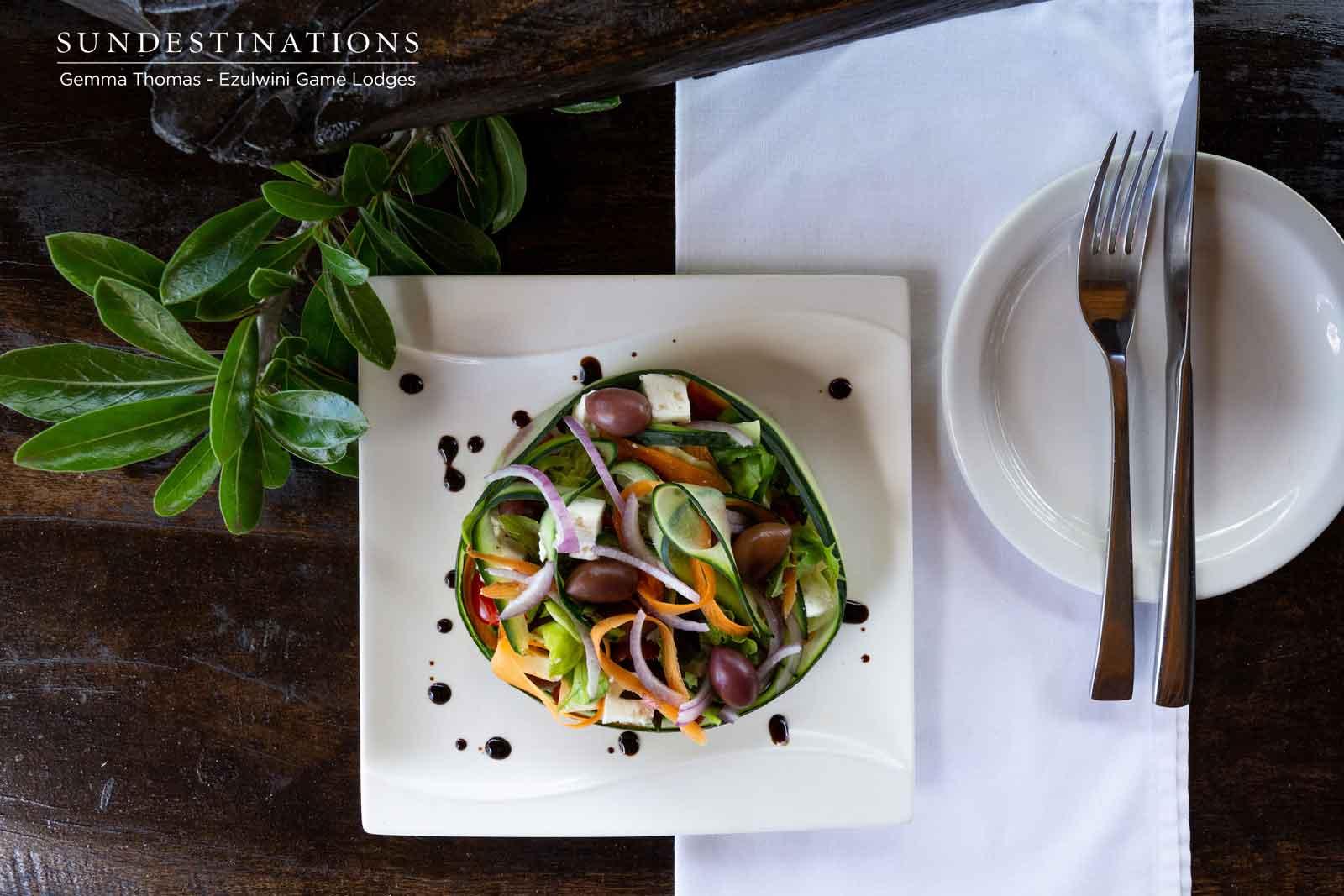 Ezulwini Game Lodges Salad