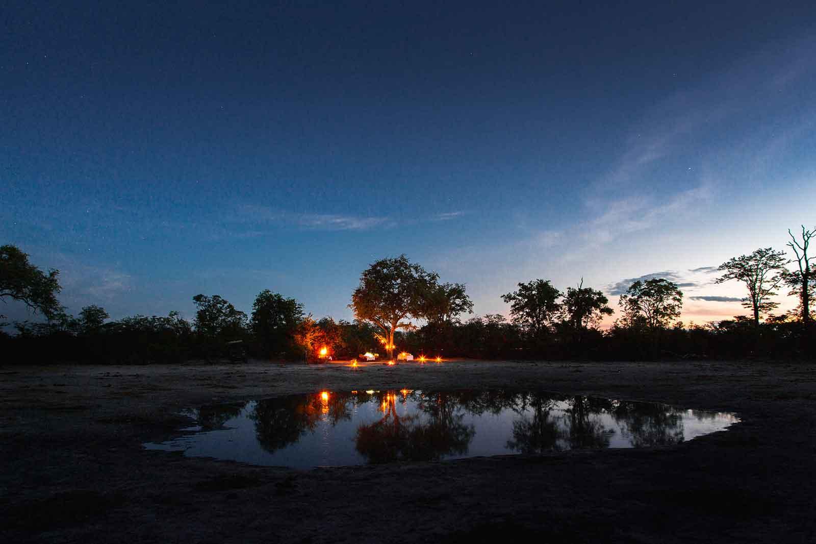 Motswiri Camp on the Waterhole