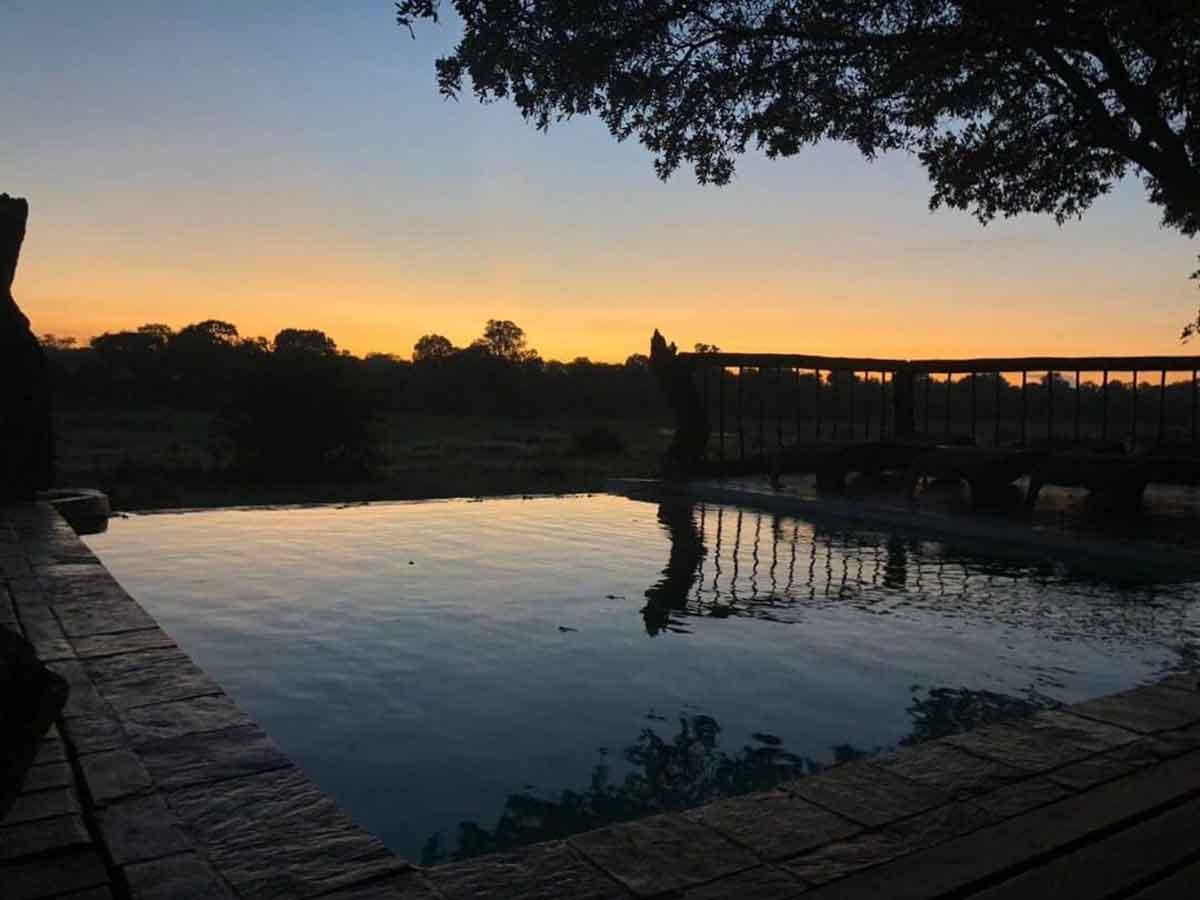 Pool at Umkumbe Safari Lodge