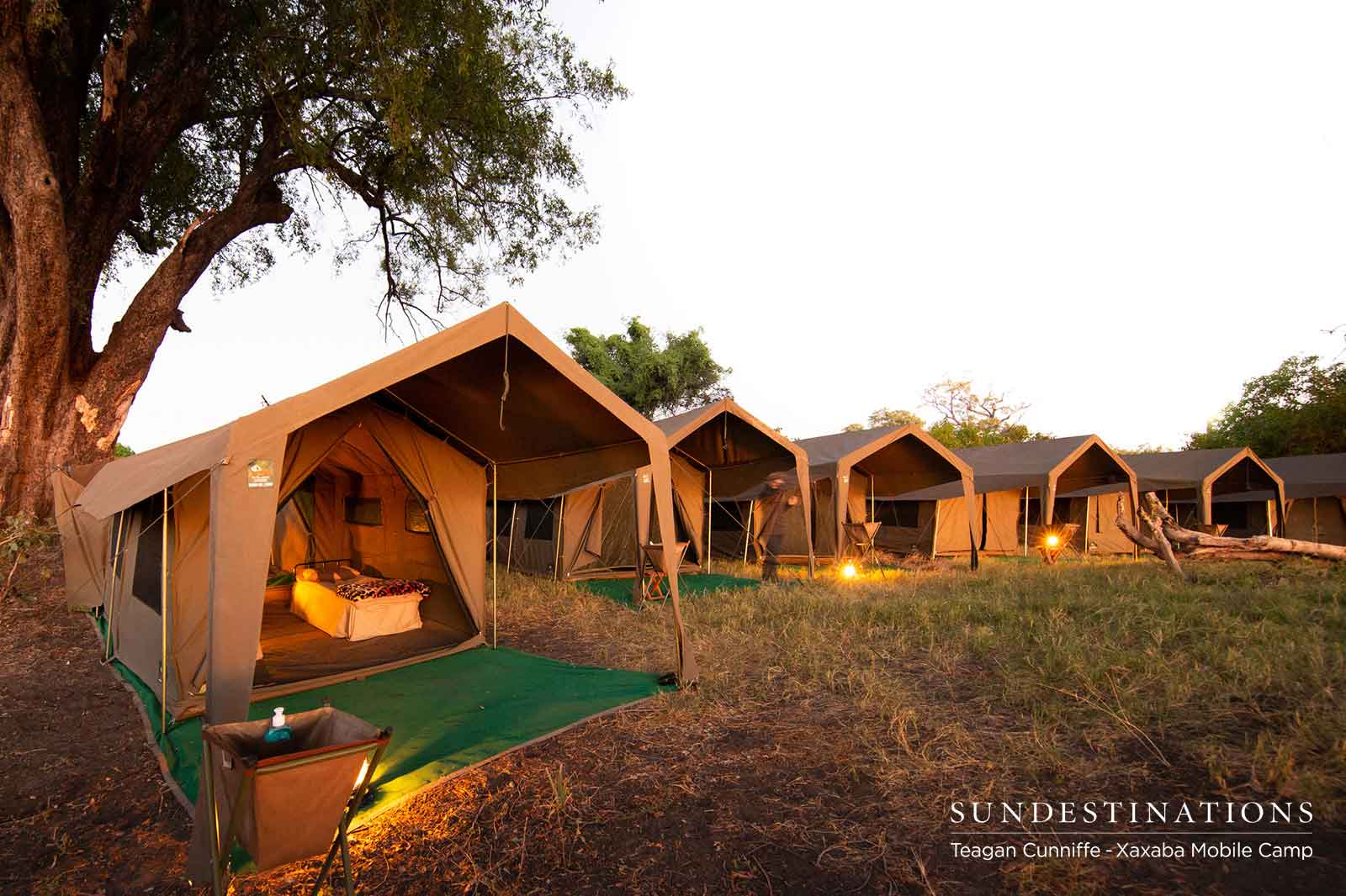 Xaxaba Mobile Camp for an Authentic Okavango Delta Safari