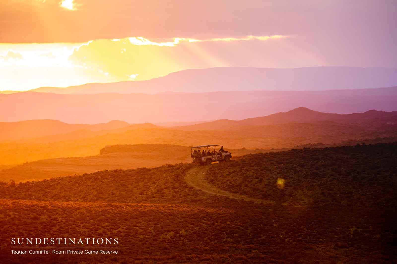 Roam Karoo Landscape Sunset