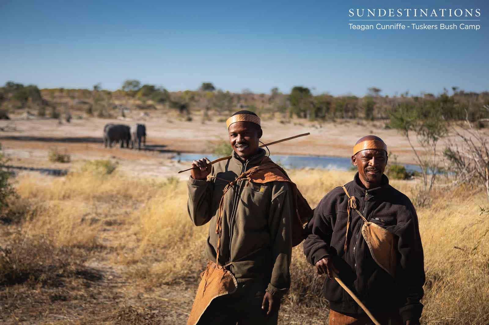 Tuskers San Bushman in Botswana