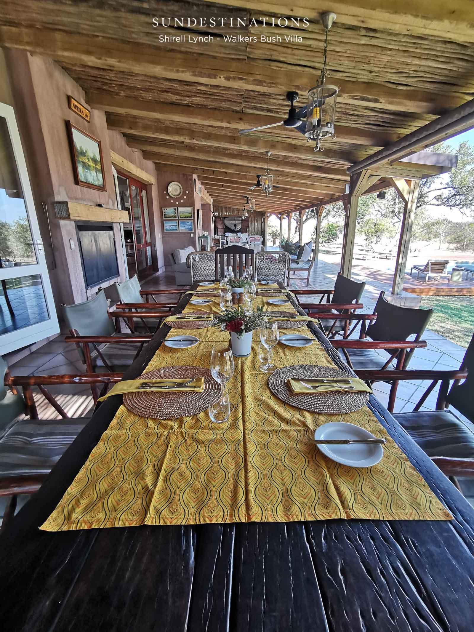Walkers Bush Villa Patio