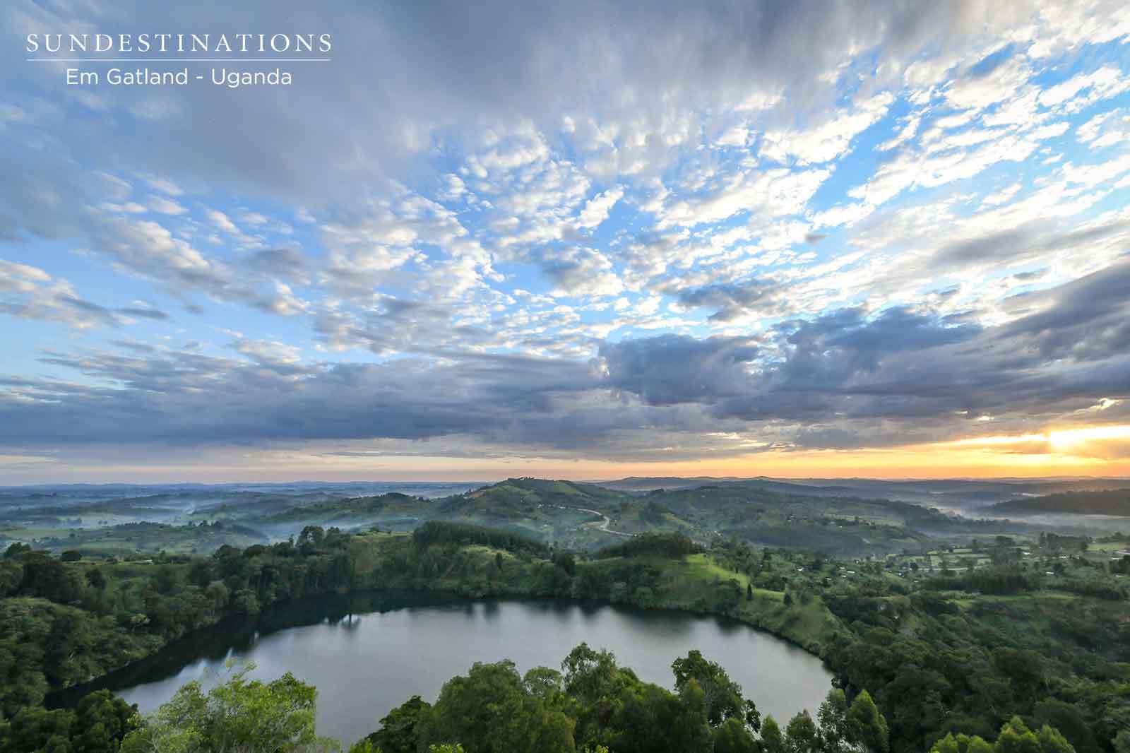 Uganda Crater Lakes