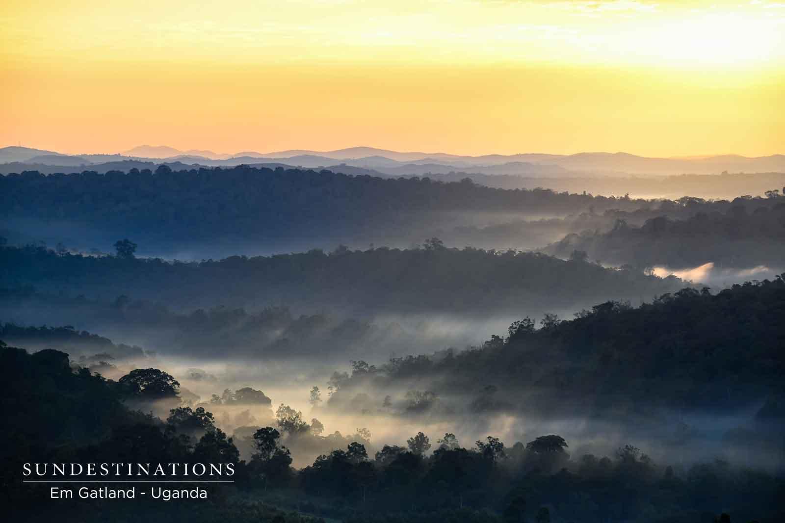 Sunsets in Uganda