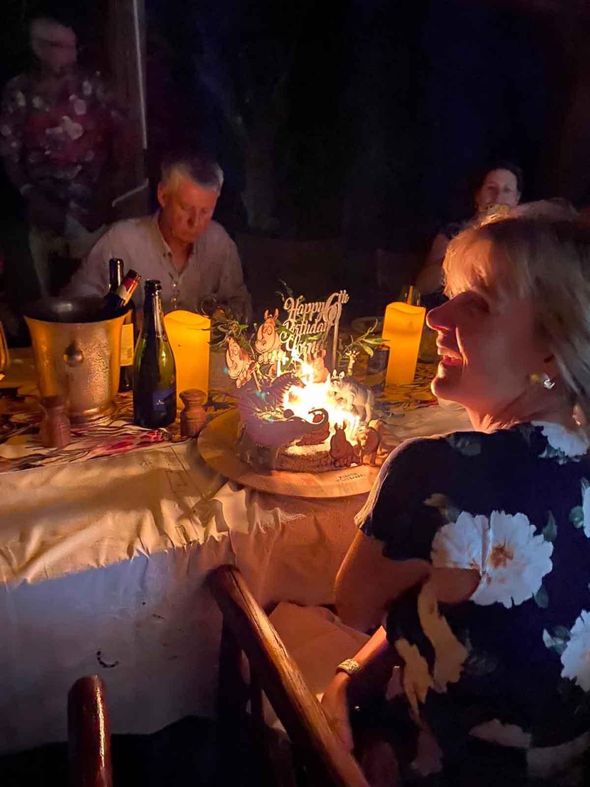 Walkers Bush Villa Dinner