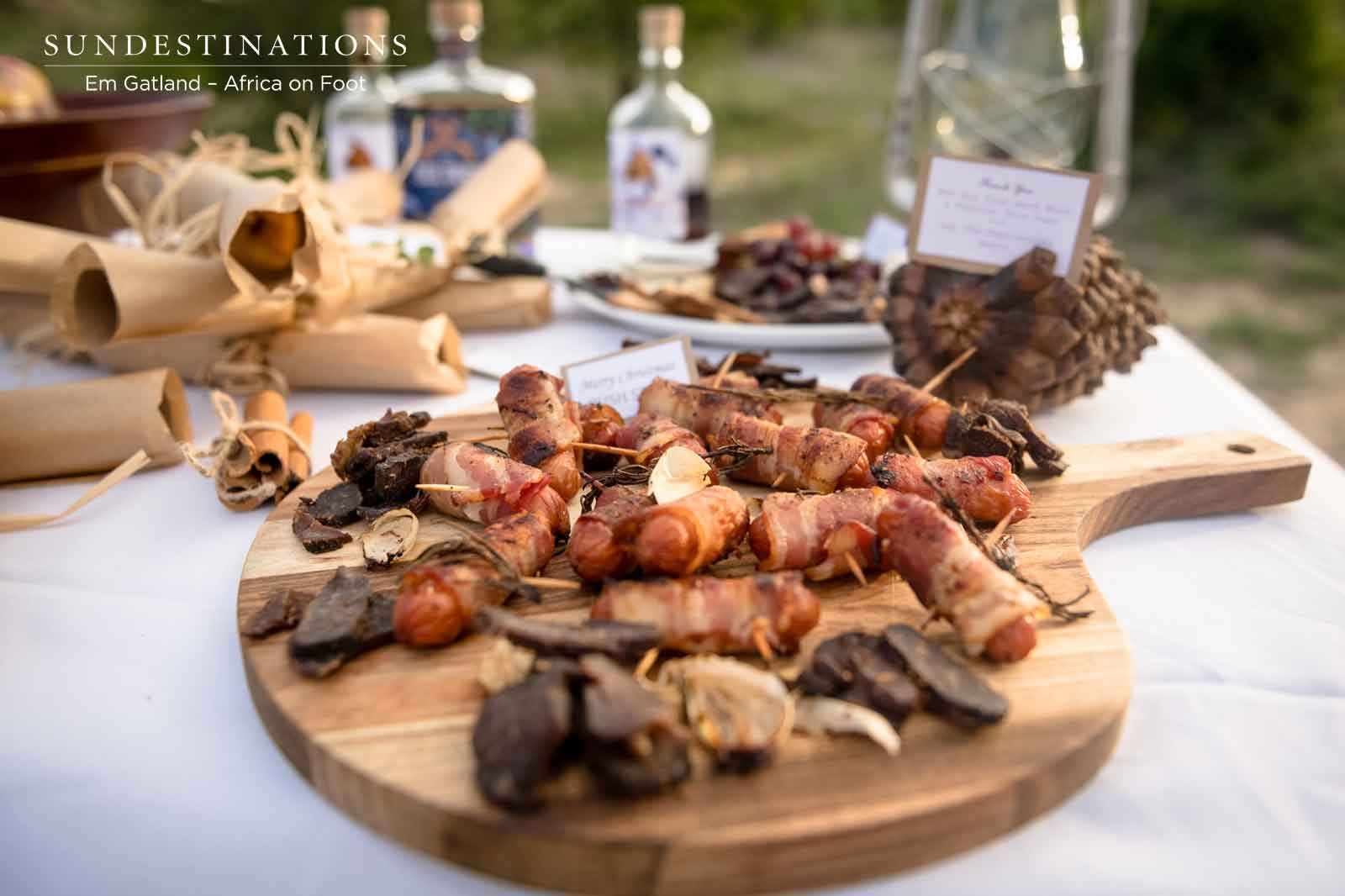Pigs in Blanket and Biltong