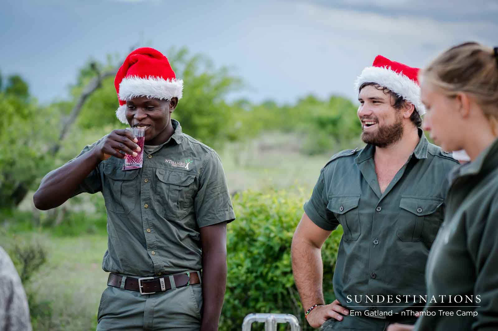Xmas Cheer at nThambo Tree Camp