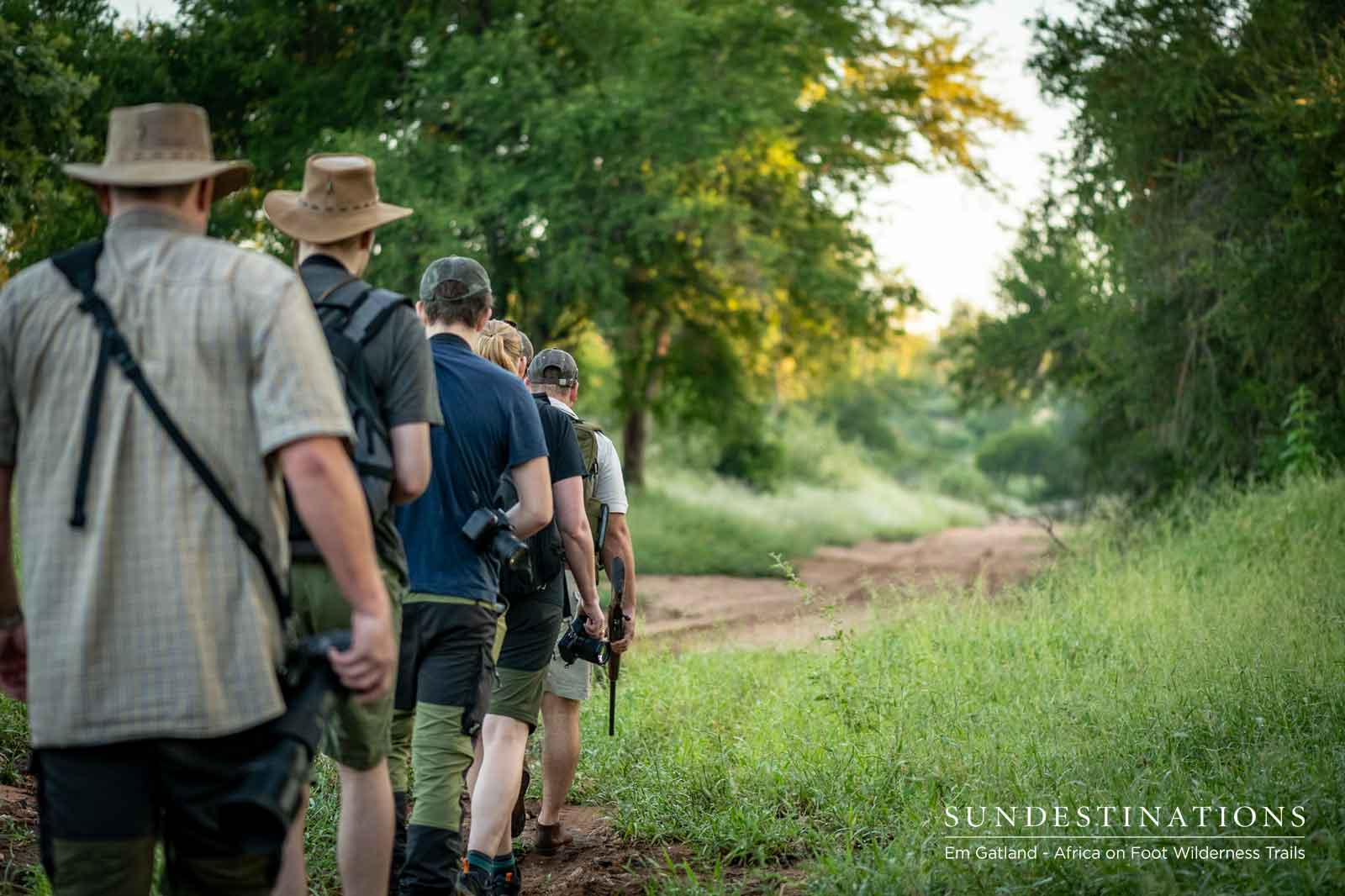 Kruger Walking Safaris : Tales and Tails from Trails