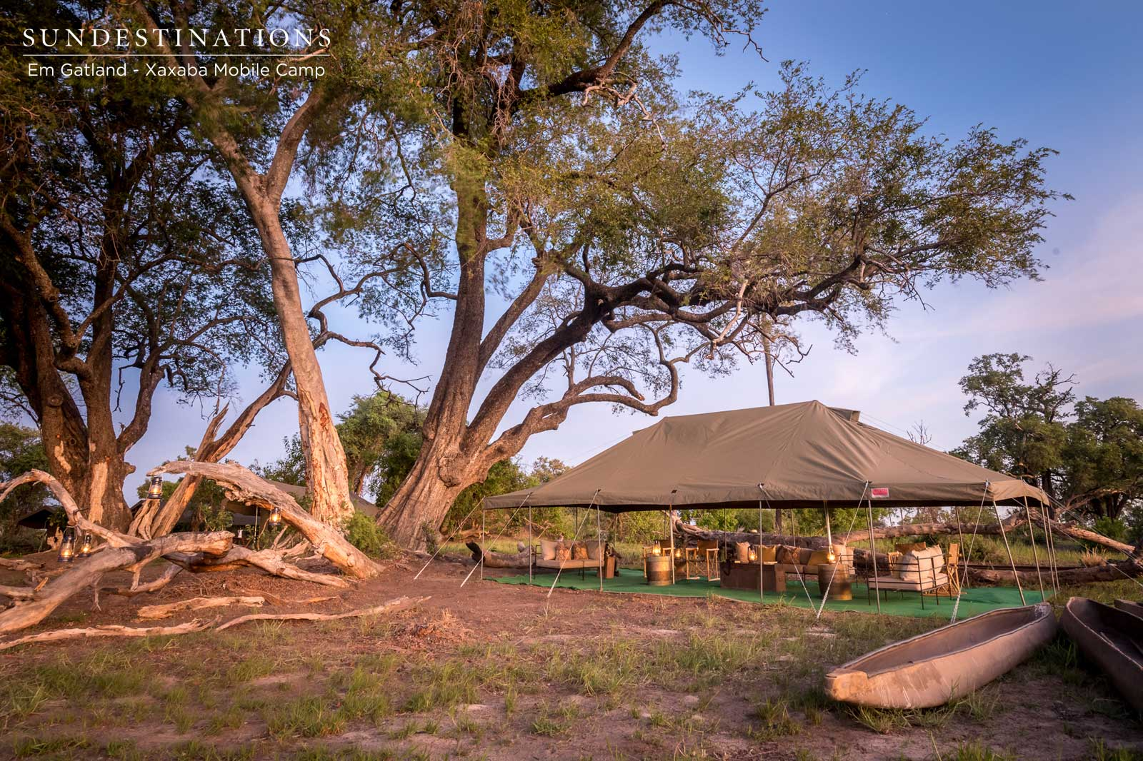 Xaxaba is the Perfect Mobile Camp in the Okavango Delta