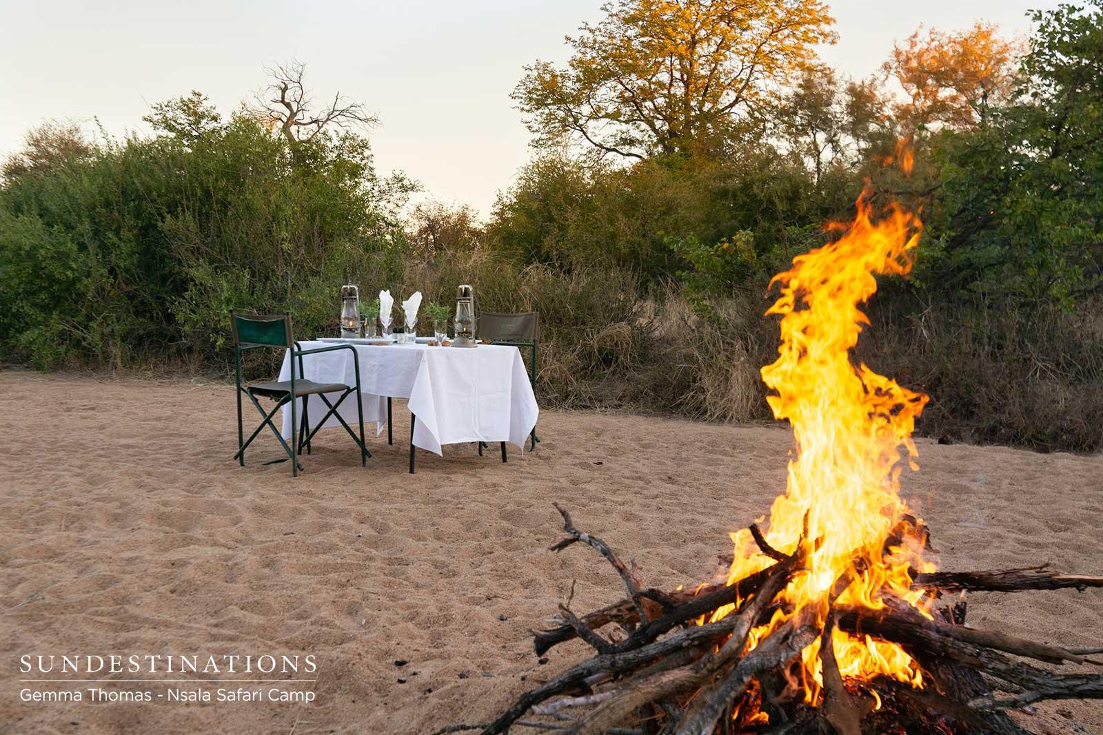 Nsala Campfire Bushveld