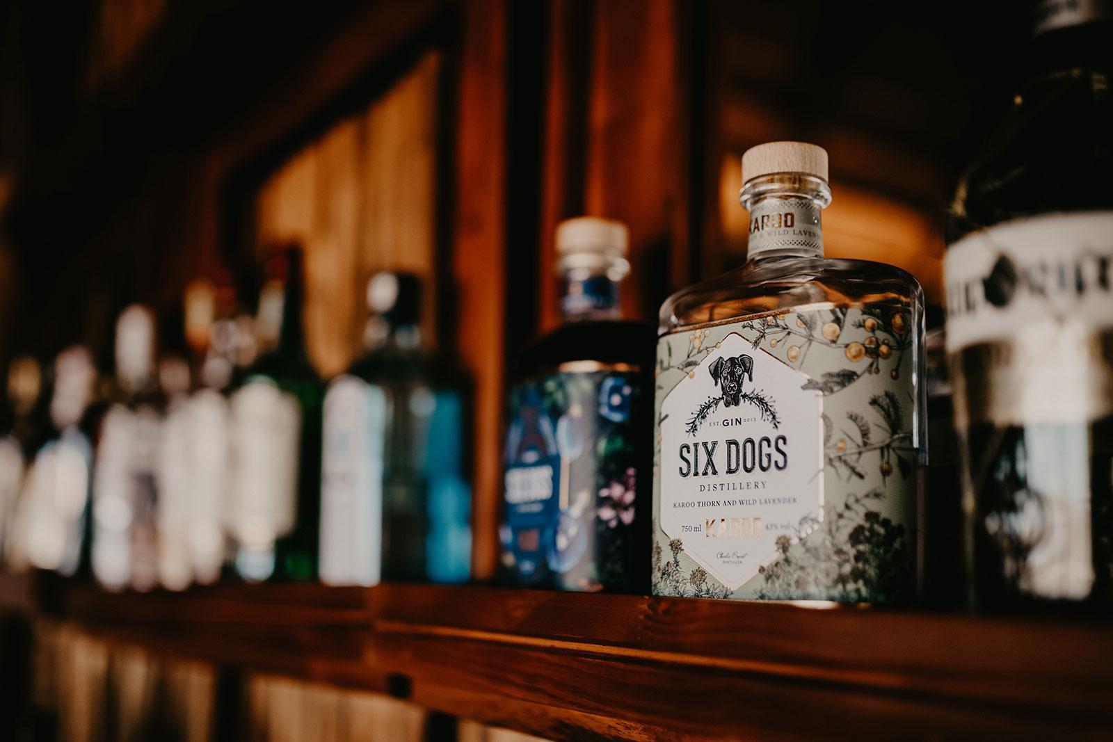 nThambo Six Dogs Gin